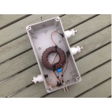 64:1 impedance transformer 1 Kw PEP with by pass