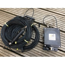 160 m - 15 meter band HWEF antenna for 3.500 MHz to 21.000 MHz  500 Watts
