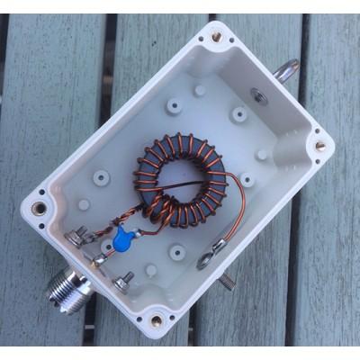64:1 impedance transformer UNUN 600 Watts