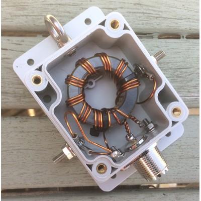 9:1 impedance transformer UNUN 300 Watts
