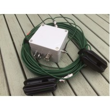 End Fed 80 - 10 meters HF Multi Band Antenna 600 watts  9:1 unun with Kevlar wires