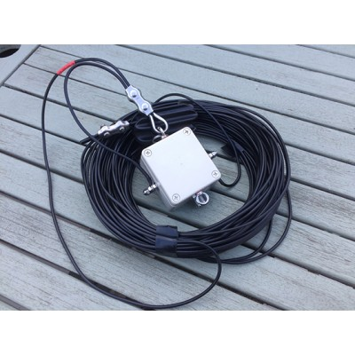 SOTA Mighty Mini End Fed 80 - 6 meters HF Multi Band Antenna 300 watts unun continuious