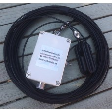 40 m - 10 meter band HWEF antenna for 7.000 MHz to 30.000 MHz  300 Watts