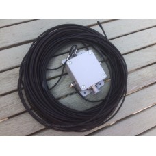 End Fed 80 - 10 meters HF Multi Band Antenna 300 watts unun