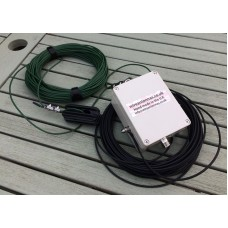 End Fed 80 - 10 meters HF Multi Band Antenna 1.5 kW  9:1 unun  with Kevlar wires
